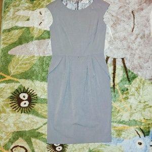 NWOT Calvin Klein Gray Sheath Dress